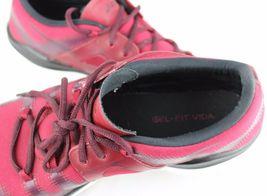Asics Gel Passform Vida Damen Schuhe Rot Laufen Training Sneakers Schnürsenkel image 10