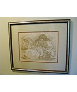 Judie Martin Colored Lithograph STORYTIME Signed ARTIST PROOF-AP- COA - $108.90