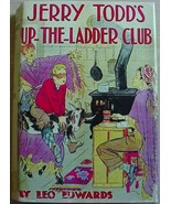 JERRY TODD'S UP-THE-LADDER CLUB #14 hc repro dj Leo Edwards author of Po... - $40.00