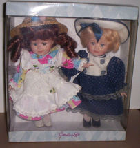 "Cara's Loft Collectibles Porcelain Doll Set Soft Body 10"" Brand New in Box! - $19.95"