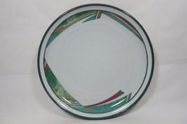 Set Of 4 Pattern New West Noritake Stoneware Sandwich/Salad Plates Japan - $37.57