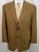 Loro Piana Blazer 40S 100% Cashmere Beige 2 Buttons Camel Colored Sport ... - £64.45 GBP