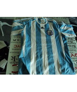 old soccer Jersey maglia camiseta Argentina 2010  adidas size XL - $48.51