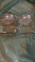 Anchor Hocking Fountain Square Storage  82y clear glass~ made is USA - $9.95