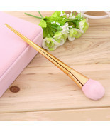 Professional Pink Rose Gold Makeup Brush Cosmetic Sculpting Foundation B... - $32.00