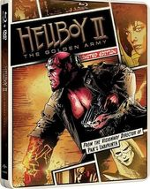 Hellboy II: The Golden Army Limited Edition Steelbook [Blu-ray + DVD]