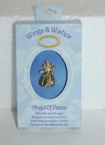 DM Merchandising Wings Wishes Peace Angel WGW24PEACE
