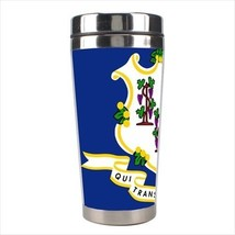 Connecticut Stainless Steel Travel Tumbler - American Home States (USA) - $16.48