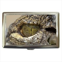 Crocodile Eye Cigarette Money Case - $12.56