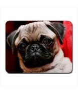 Cute Pug Mousepad (Neoprene Non-slip Mousemat) - Puppy Dog - $7.71