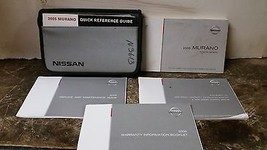 2005 Nissan Murano Owner's Manual by Nissan - $29.69