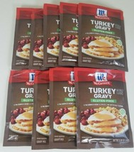 9 Packs Mc Cormick Gluten Free Turkey Gravy Mix .88 Oz Each Bb 03/2022 - $59.40