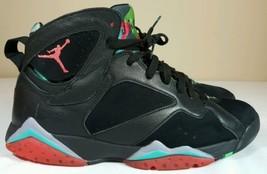Nike Air Jordan Retro 7 Barcelona Night Marvin Martian VII Men 10 Bordeaux Hare - $125.99