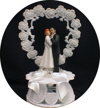 LUCY & Ricky Desi Love ornament Wedding Cake Topper top I - $101.18