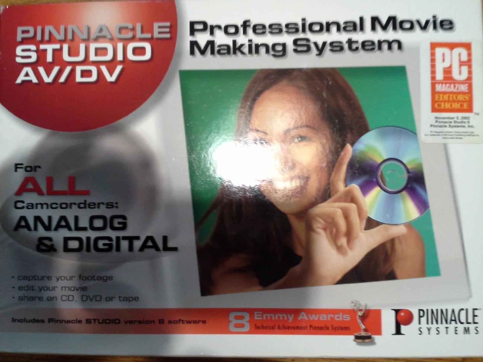Pinnacle Studio Av/Dv (Retail Version 8 ) and 50 similar items