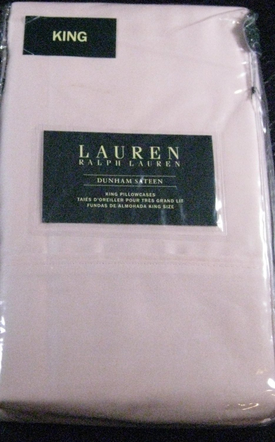 Ralph Lauren Dunham Peony Pink Pillowcases King