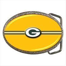 Green Bay Packers Belt Buckle - NFL Football - $9.65