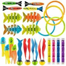 Prextex 24 Piece Diving Toy Set Summer Fun Underwater Sinking Swimming P... - $22.05