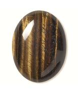 Brown TigerEye Cabochon, 40x30 mm luminous, 30x40 cab Tiger Eye - $9.00