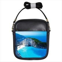 Navagio Bay Greece Sling Bag & Women's Handbag - $14.54+