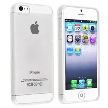 0.3mm Ultra Thin Crystal Case Cover for Apple iPhone 5 5S - Clear Transp... - $2.92