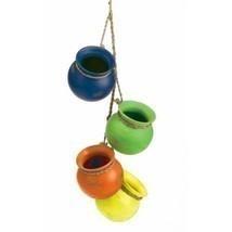 Fiesta Dangling Pots - $18.80