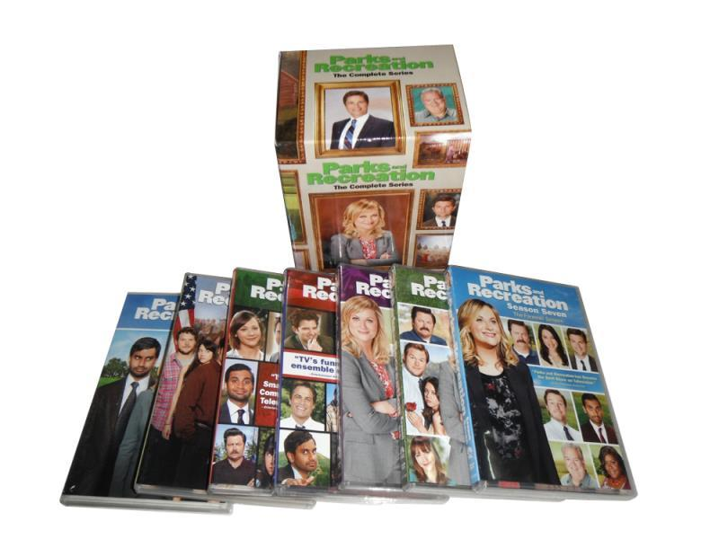 Parks and Recreation Complete Series DVD Season 1-7 BoxSet 20 Disc Free Shipping