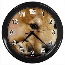 Shiba Inu Wall Clock - Puppy Dog - $17.41
