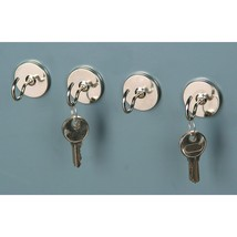 4pc Magnetic Utility Hook Set 4.75 lbs Magnetic... - $5.64