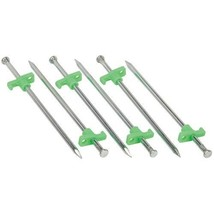 10 Inch Steel Tent Stakes 6 Pack - $5.64