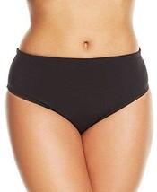 NEW Becca by Rebecca Virtue Black Hipster Bikini Bottom Plus 2X 20-22 - $19.79