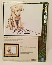 Dimensions Crafts Counted Cross Stitch Achoo Dalmation Puppy 10 x 12  35179 NOS - $19.79