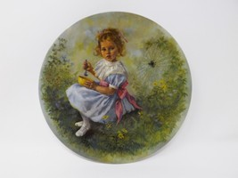 "Reco ""Little Miss Muffet"" Collectible Plate - Mother Goose Series - $16.14"