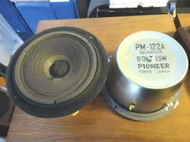 Pioneer PM-122A MidRange Squawker  From CS-A31, 4 available, japanese! - $21.20