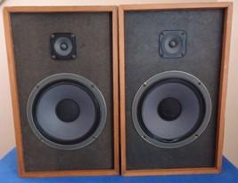 Realistic MC-1201 Bookshelf 8 inch Speakers, See Video ! - $78.80