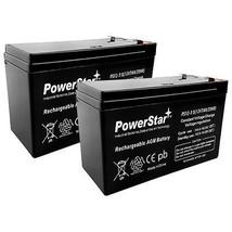 2 x 12V 7Ah Sealed Lead-Acid Rechargeable Battery for APC IBM Belkin UPS... - $32.59