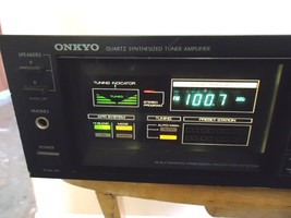 Onkyo TX-26 Receiver, japanese, See The Video ! - $46.40