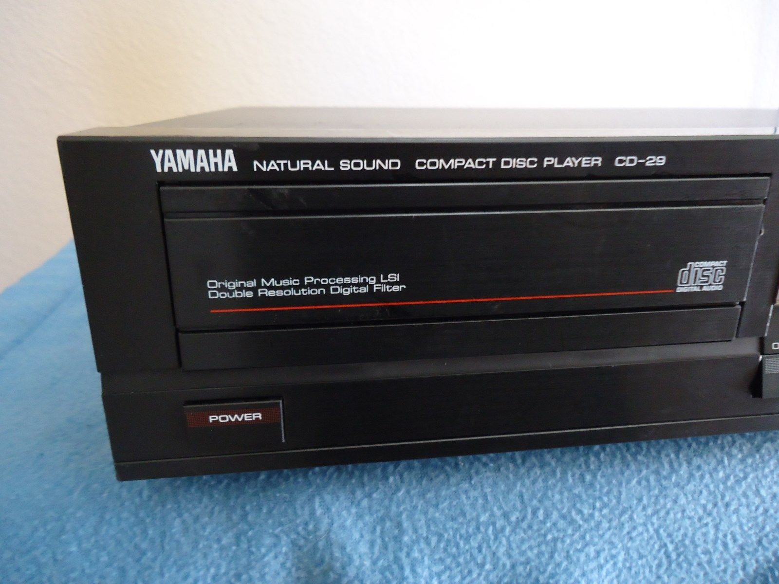 yamaha cd 29 compact disc player japanese and 50 similar. Black Bedroom Furniture Sets. Home Design Ideas
