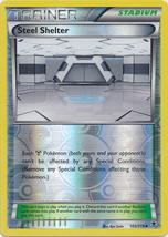 Steel Shelter 105/119 Reverse Holo Uncommon Trainer Phantom Forces Pokem - $1.09