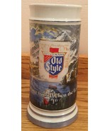 G. Heileman Brewing Co. 1985 OLD STYLE Vintage Beer Stein Numbered edition - $9.94