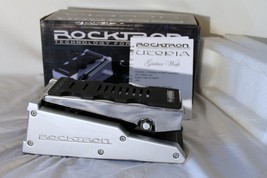 Rocktron Utopia Wah Guitar Effects Pedal Silver New in Box - $75.00