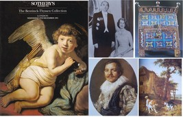 Sothebys Old Master Paintings London 1995 The Bentinck-Thyssen Collection - $11.38