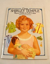 Classic Shirley Temple Paper Dolls in Full Color  Dover Paper Dolls  UNCUT - $4.99