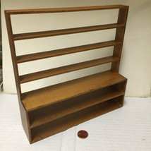 Miniature Store Display SHELF UNIT in Dollhouse Scale 1:12              ... - $7.99
