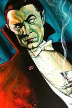 Bat Man - Fine Art Print - Tattoo Artist Custom Art Lithograph Vampire D... - $19.00
