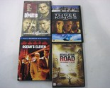 Lot of 4 DVDs - Revelation Road, Three Kings, Ocean's Eleven, The Departed