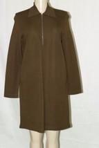 Andrea Jovine Long Sleeve 100% Wool Dress Sz M Boot Length Winter Wear M... - $26.73