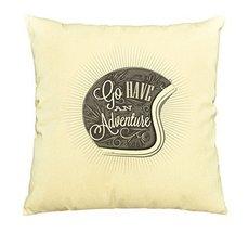 Vietsbay Adventure hand draw helmet Printed Cotton Decorative Pillows Ca... - $15.99