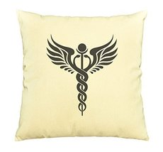 Vietsbay Caduceus, wings, Hermes, Mercury Printed Cotton Pillows Case VPLC - $15.99