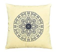 Vietsbay Mandalas Vintage elements -8 Printed Cotton Pillows Case VPLC - $15.99